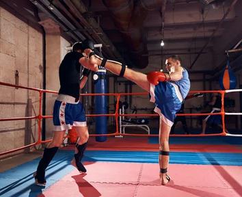 Kickboxing and Jiu-Jitsu